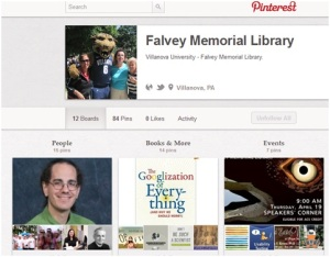 Falvey Library on Pinterest