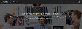 LinkedIn for Higher Education